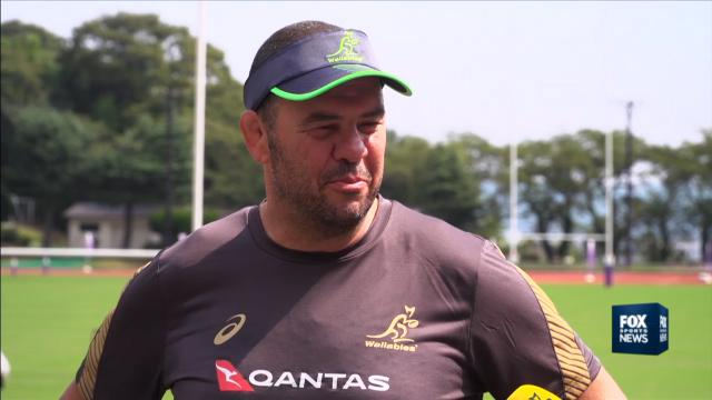 Cheika: We're here to win