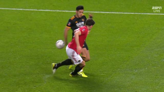 The hard handball saves Utd
