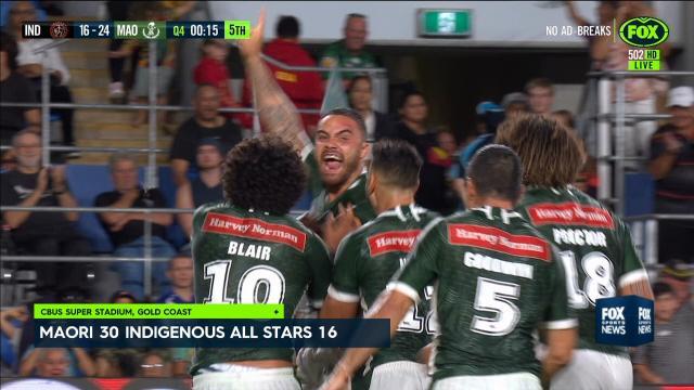Maori victory All-Stars clash