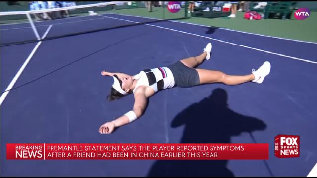 The virus clears Indian Wells