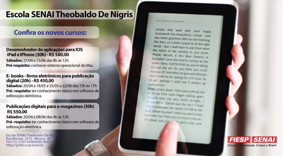 SENAI Theobaldo De Nigris - Curso de Criação de e-magazines
