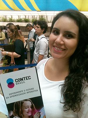Cristiane Cabral - Contec Brasil - Feira do Livro de Frankfurt