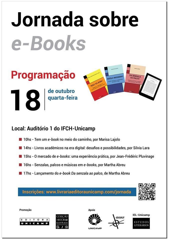 Jornada sobre eBooks da Editora Unicamp