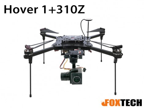 Foxtech Hover 1 Quadcopter With FH310Z Gimbal