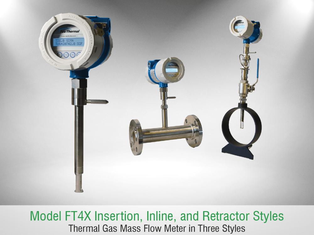 medium resolution of fox thermal model ft4x flow meter