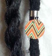 hair ring - adjustable aztec