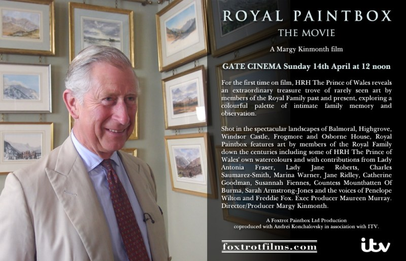 Royal Paintbox Gate Cinema 14th April