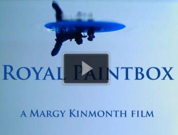 Royal Paintbox trailer