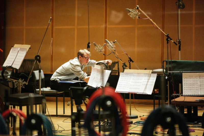 Composer Finn Keane scores War Art with Eddie Redmayne at Angel Studio