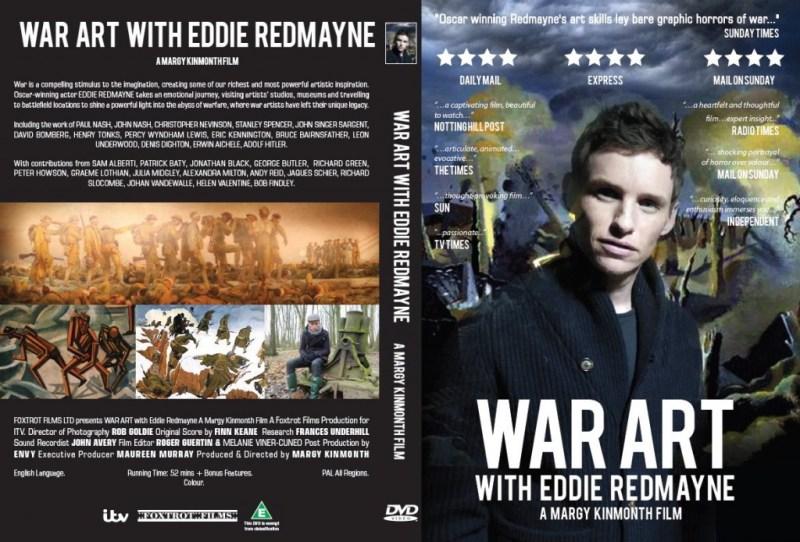 WAR ART with Eddie Redmayne on DVD