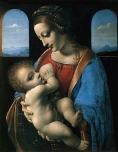 Leonardo Da Vinci's 'Madonna Litta'