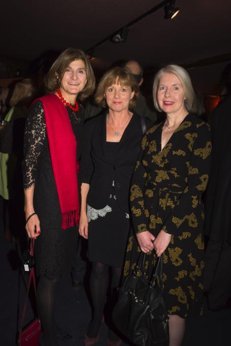 Margy Kinmonth, Kate Muir and Maureen Murray