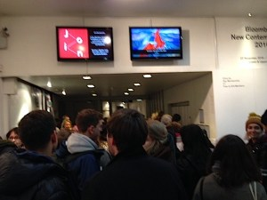 REVOLUTION - Eager audience await the screening at the ICA, 26 November 2016