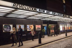 Premiere of Revolution, New Art For a New World , Curzon cinema , London. 10 Nov 2016