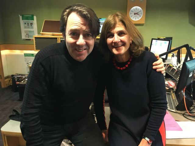 Jonathan Ross and Margy Kinmonth