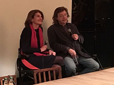 Margy Kinmonth and Mike von Joel