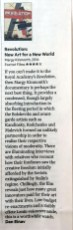 Financial Times 4 star DVD review