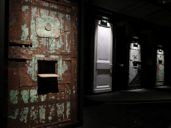 Doors from Gulag camps, Gulag History Museum Moscow. © Margy Kinmonth