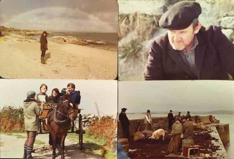 Production Stills from the filming of To The Western World.