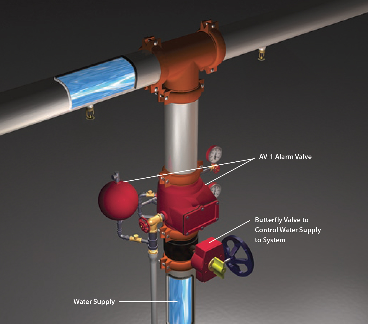 hight resolution of wet system valves devices diagram