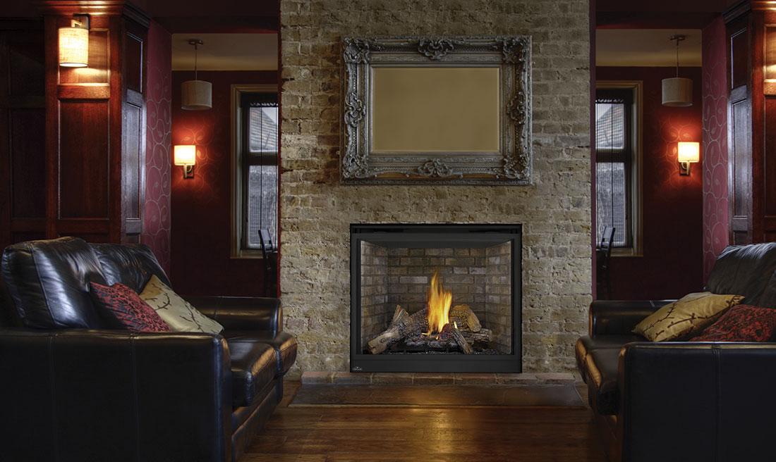 Gas Fireplaces  Fox Valley Stone  Brick