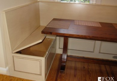 Kitchen Nook Table With Storage