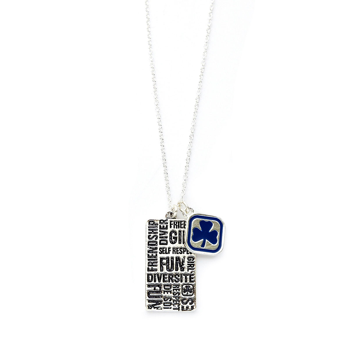 Girl Guides necklace with Inspirational Words « Foxy Custom