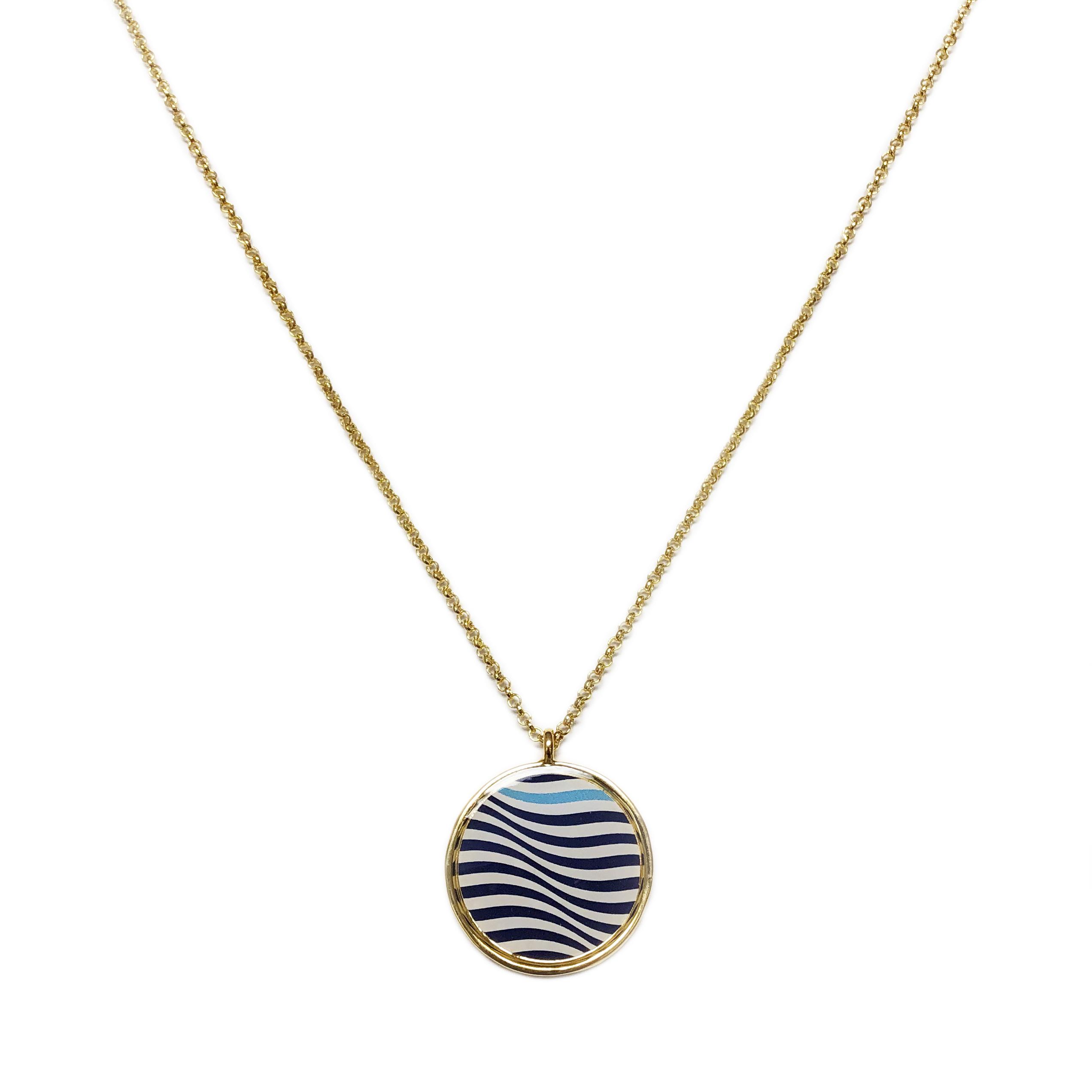 Printed Pendant Necklace « Foxy Custom