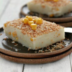Maja Blanca (Coconut Milk Pudding with corn)