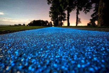 glowing path