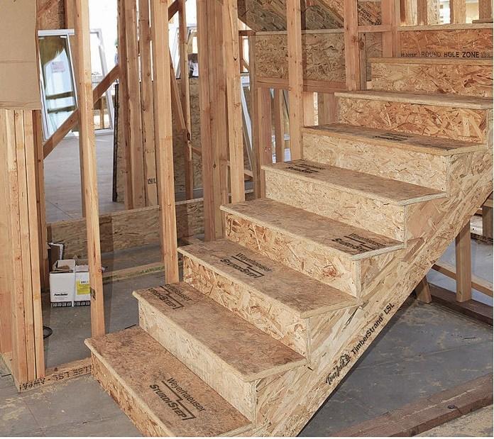 Lsl Stair Stingers Treads | Rustic Wood Stair Treads | Indoor Stair | Wood Plank | Interior | Reclaimed Wood | Carpet