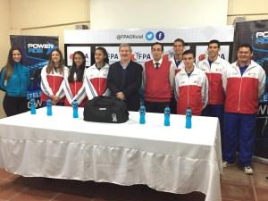 De izquierda a derecha: Chiara Bacigalupi, Briza Duré, Miguel Carrizosa, Nilo Duré, Joan Bordenave, José Luis Duarte y Edgar Galeano.