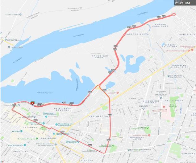 Asunción recibe el Sudamericano de medio maratón 1