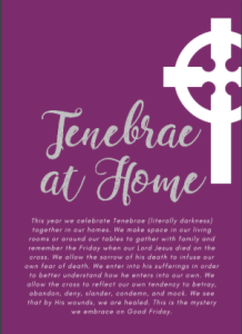 thumbnail of Tenebrae at home PDF