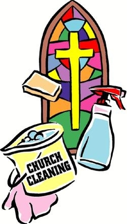 Image result for church spring cleaning