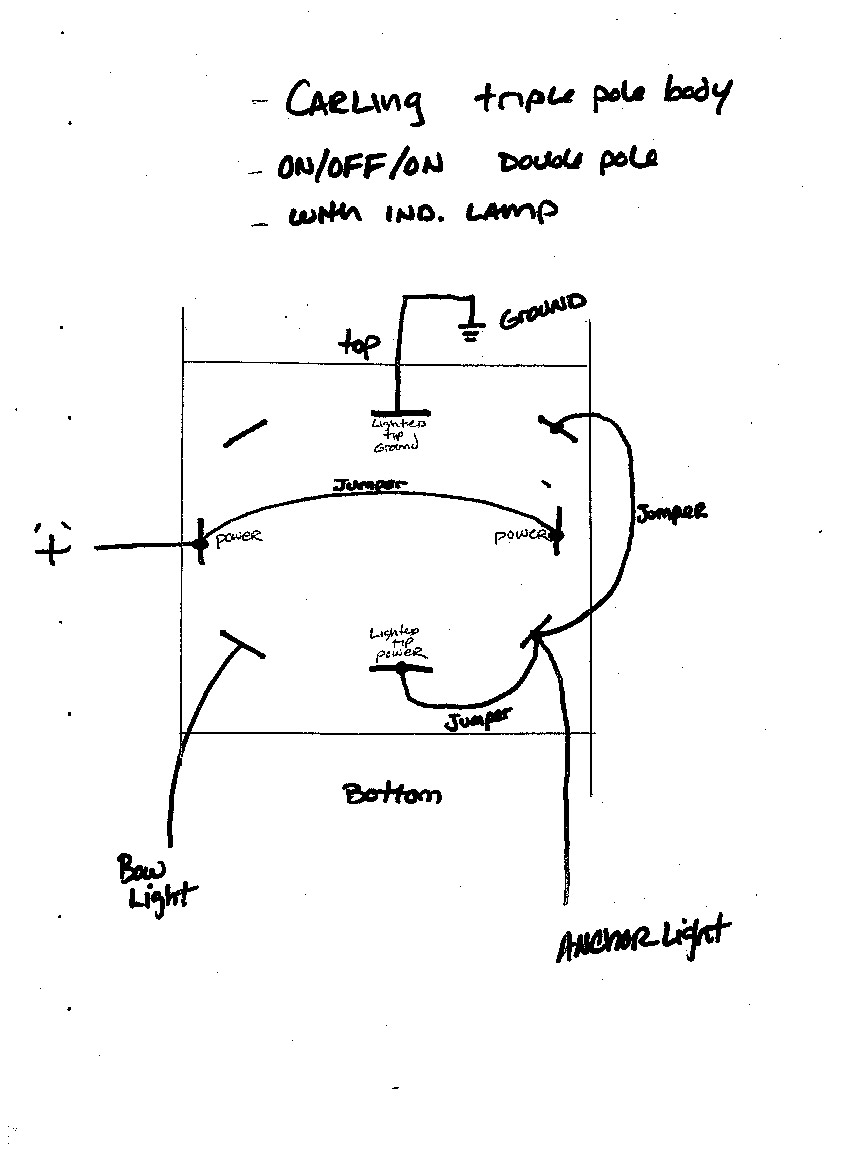 Carling Lighted Switch Wiring Diagram Dpdt On-Off-On