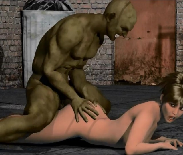 D Porn Big Green Orc Raped Sexy Brunette Girl On The Street By D Porn Fpo Xxx