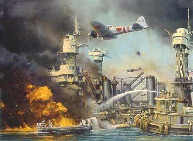 Pearl  Harbor under attack
