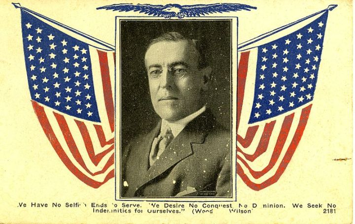 Woodrow Wilson S Diplomacy The First World War And Quest For Post Peace American
