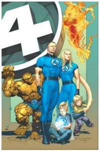 Dale Eaglesham cover for Fantastic Four