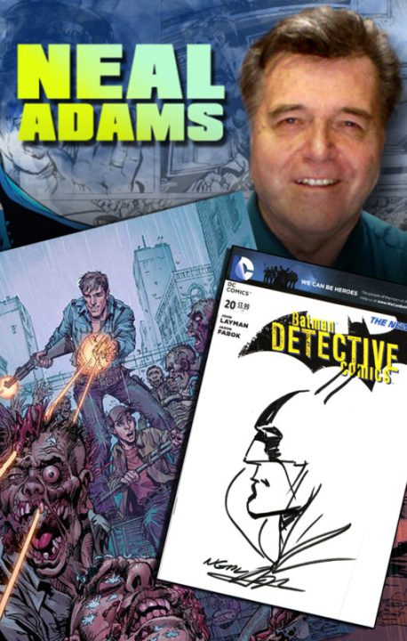 Mr  Neal Adams Signing at Forbidden Planet NYC Wednesday 2