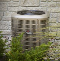 Napoleon- 14 SEER Central Air Conditioner - Fireplace ...