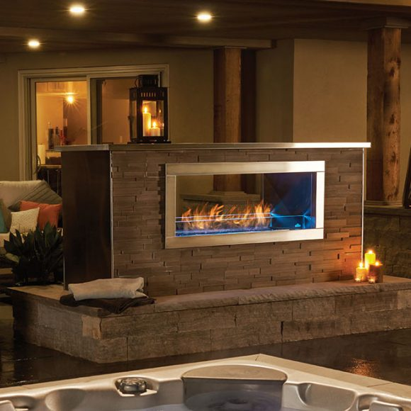 Benefits of MultiSided  SeeThrough Fireplaces