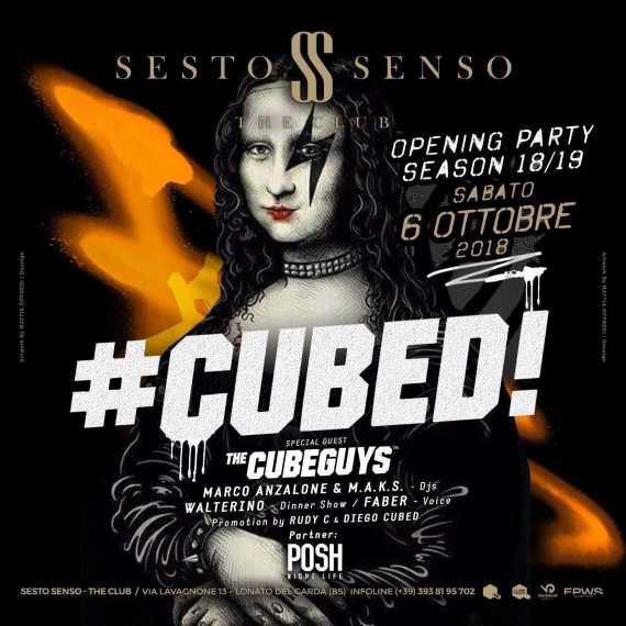 #cubed