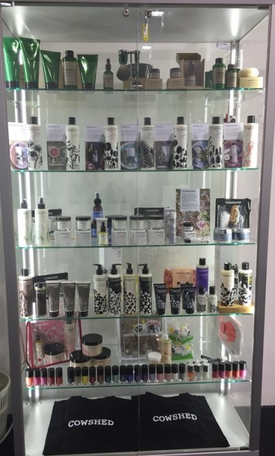Cowshed stand cosmoprof 2016