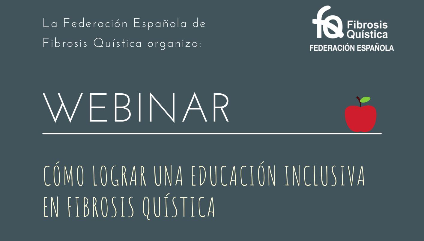 """Webinar """"Cómo lograr una educación inclusiva en Fibrosis Quística"""""""