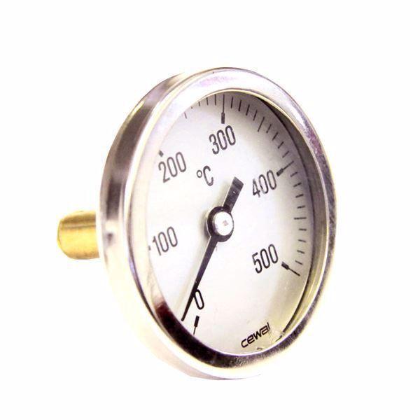 thermometre de porte pour four a bois