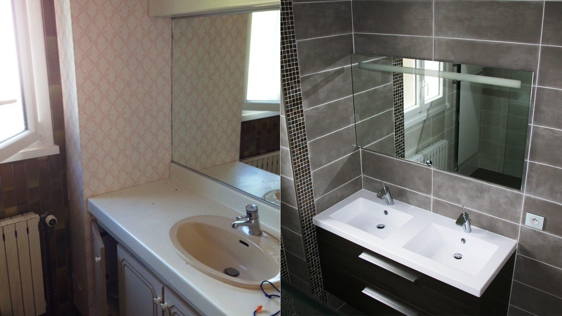 renovation complete d une salle de bains 77