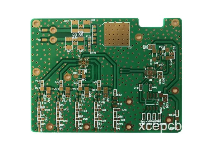 Large Image Etest Printed Circuit Board Prototype Pcb Assembly