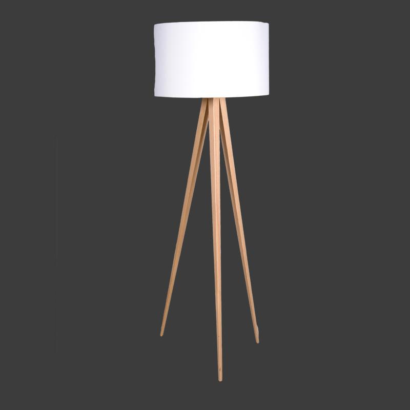 Lamp Tripod wit  Fraai Projecten